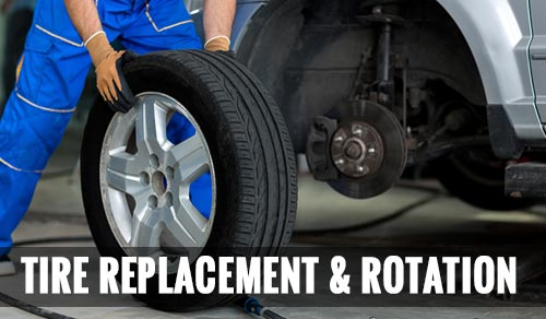 Tire replacement & Rotation